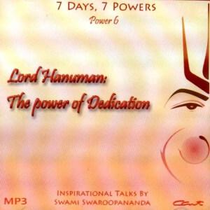 LORD HANUMAN: THE POWER OF DEDICATION (7 DAYS, 7 POWERS) (MP3)